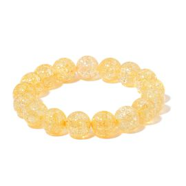 Simulated Citrine Stretchable Bracelet (Size 7)